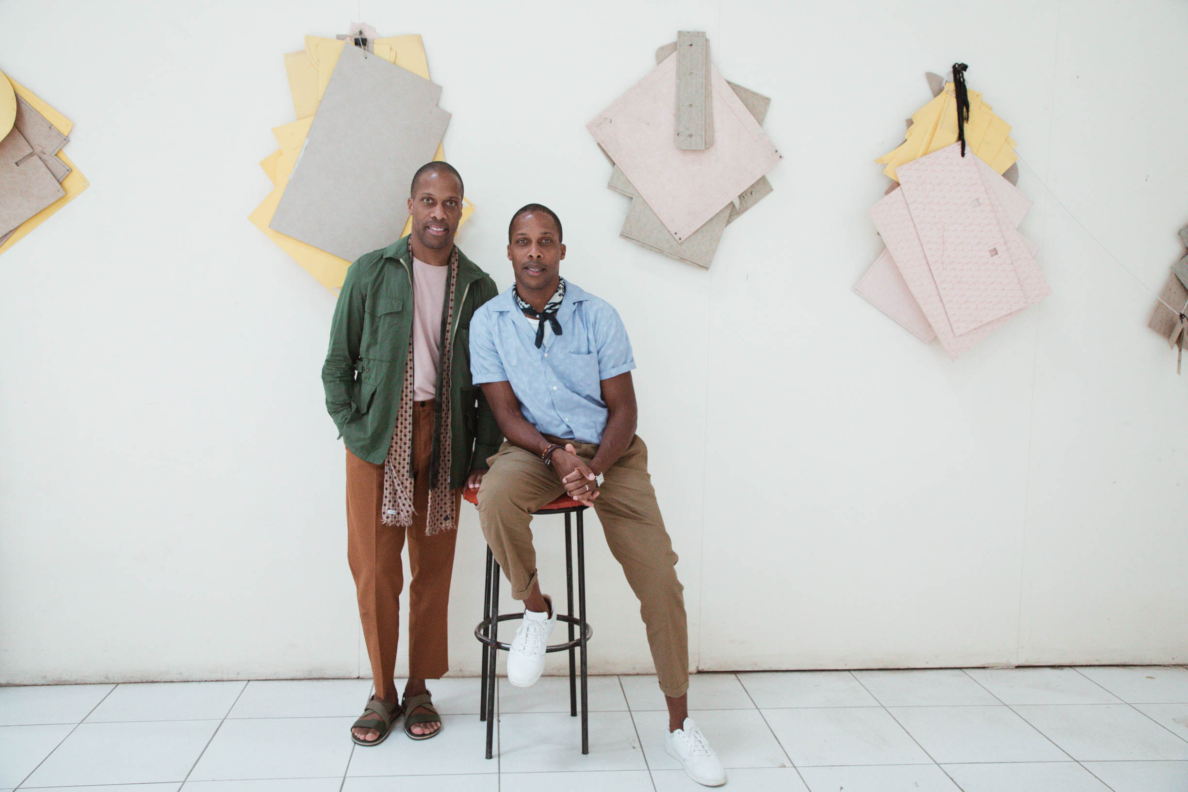 Goodee founders Byron and Dexter Peart testimonial for UPPL creative agency